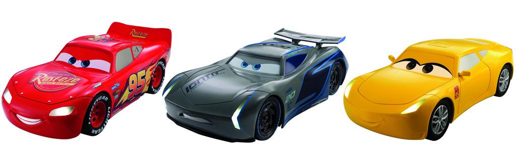 Cars 3 auta se světly a zvuky