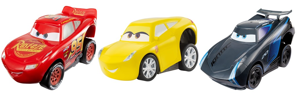 Cars 3 natahovací auta