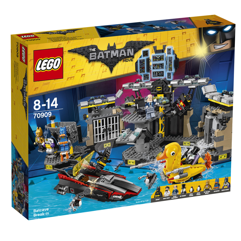 Lego Batman Movie Vloupání do Batcave