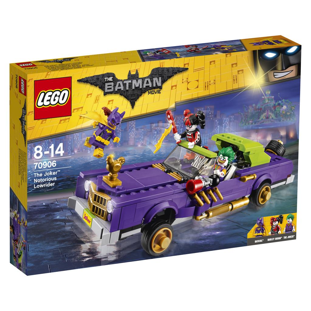 Lego Batman Movie Joker a jeho vůz Notorious Lowrider