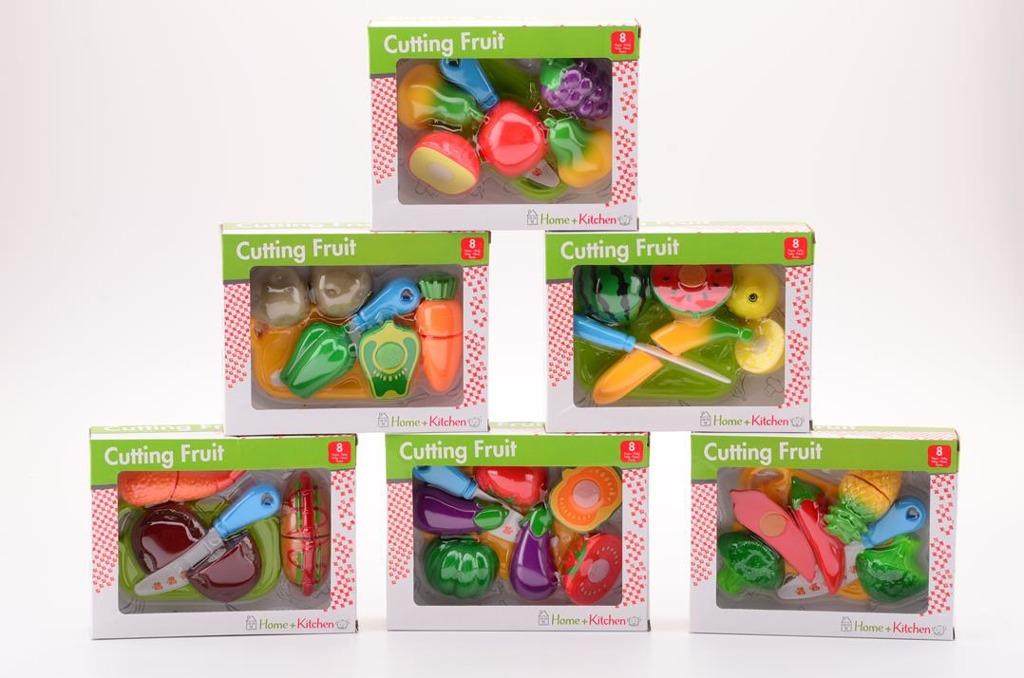 Krájení ovoce a zeleniny 6 různých druhů
