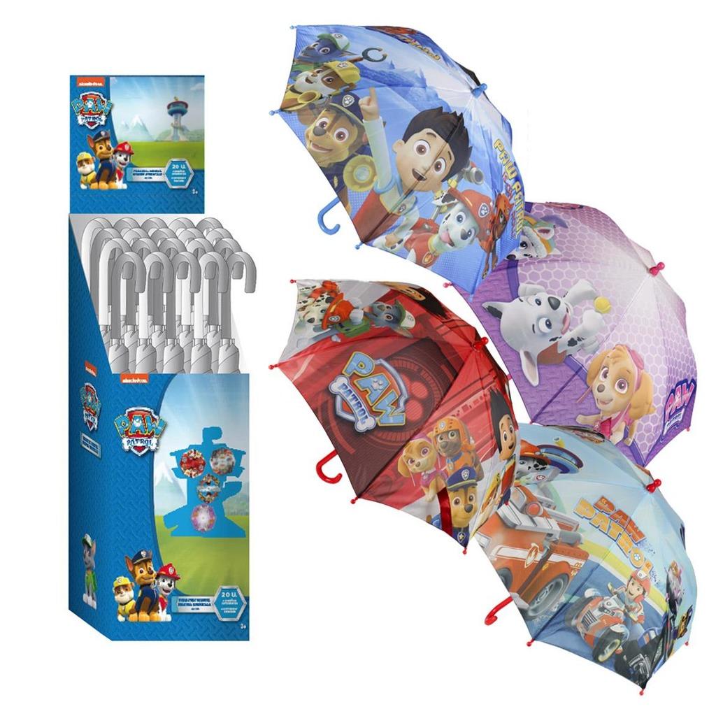 Deštník dětský Tlapková patrola 4 druhy