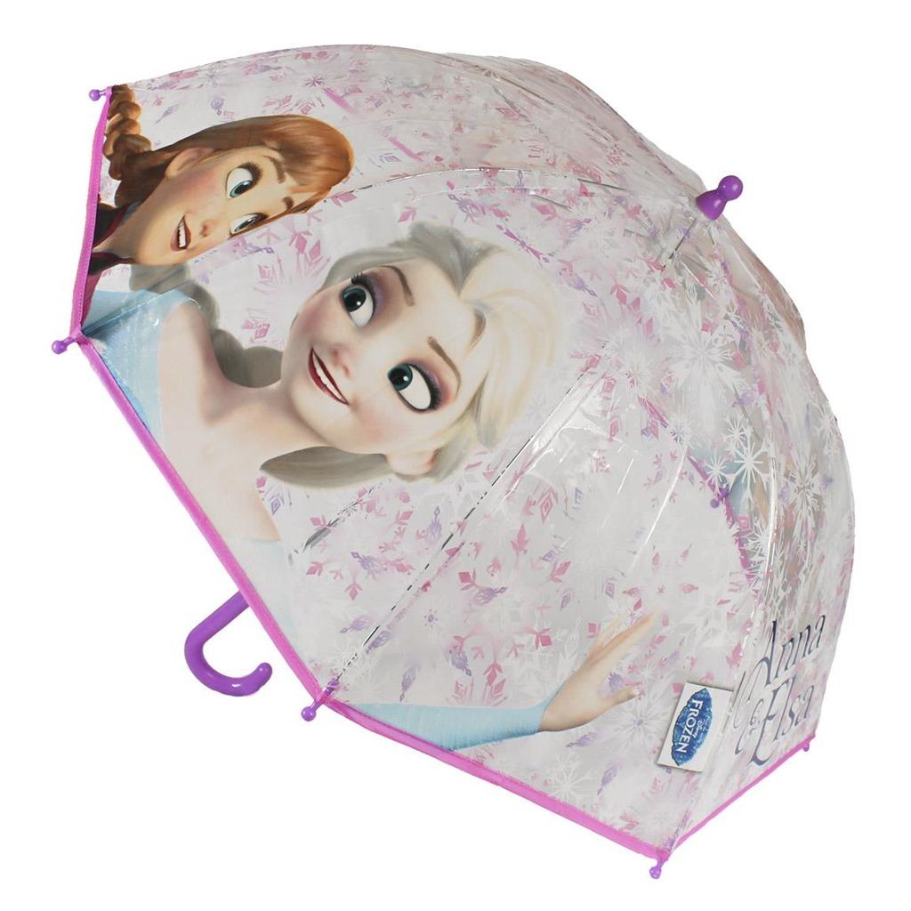 Deštník dětský Ledové království fialovo/bílý