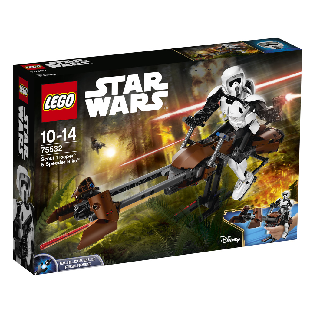Lego Star Wars Průzkumný voják a speederová motorka