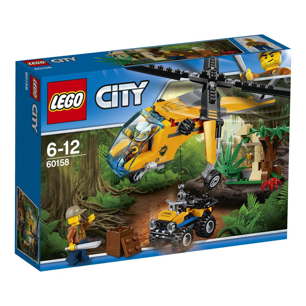 Lego City Nákladní helikoptéra do džungle