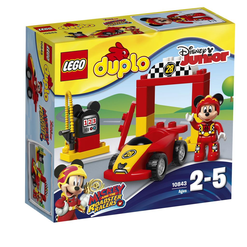 Lego Duplo Mickeyho závodní auto