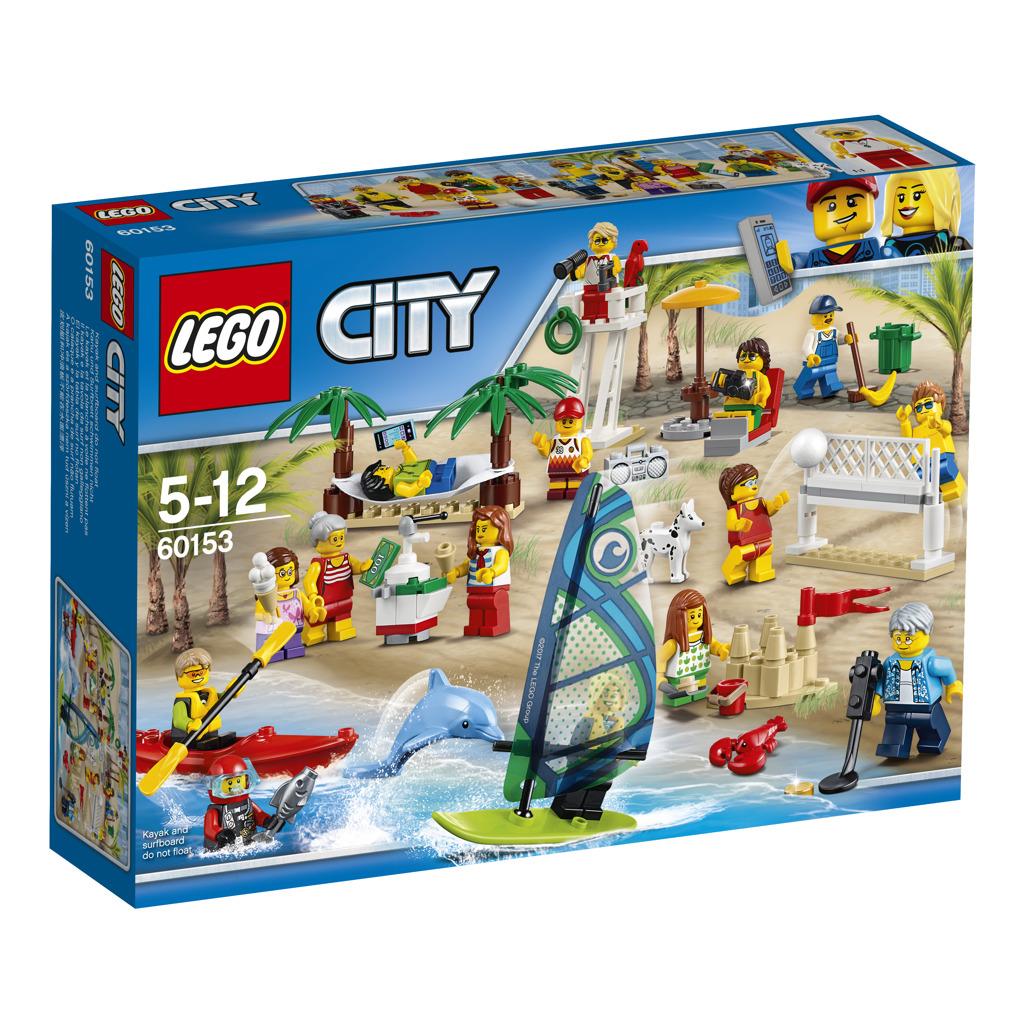 Lego City Sada postav - Zábava na pláži