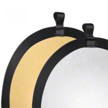 Odrazné desky Walimex zlatá-stříbrná 56cm