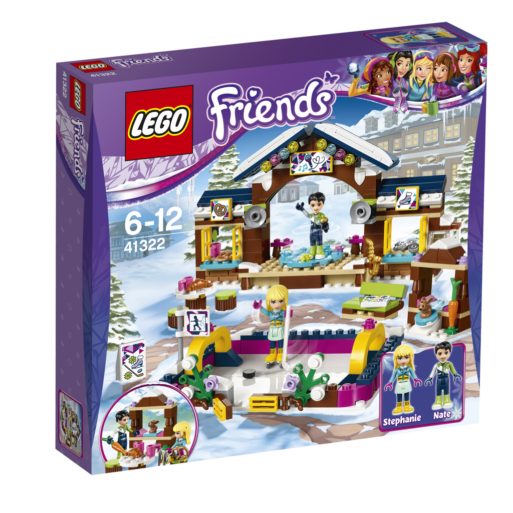 LEGO Friends 41322 Snow Resport Ice Rink