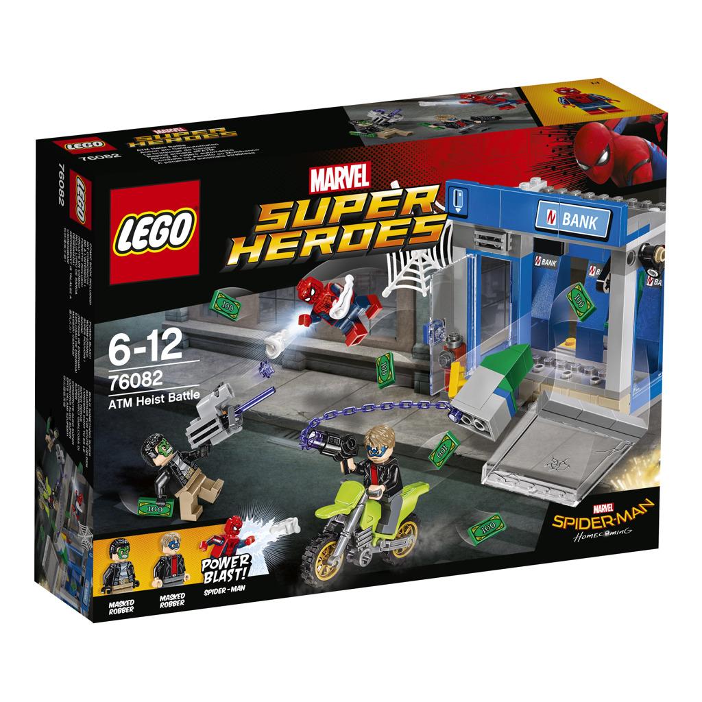 Lego Super Heroes Krádež bankomatu