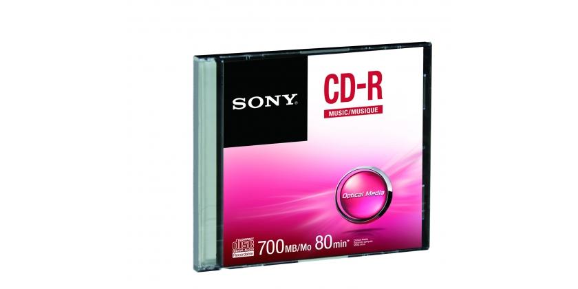 Média SONY CD-R CRM80SS, bal. 1 ks, SLIM