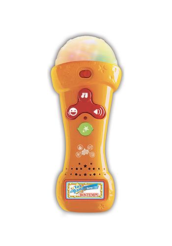 Mikrofon Karaoke se světlem