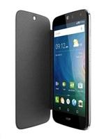 ACER Smartphone Liquid Z330, Flip Cover, tmavě šedý