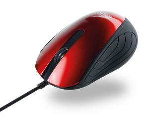 SWEEX Optická myš USB 1000 DPI Red