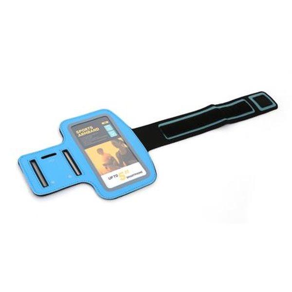 PLATINET sportovní popruh na paži pro smartphone, modrý