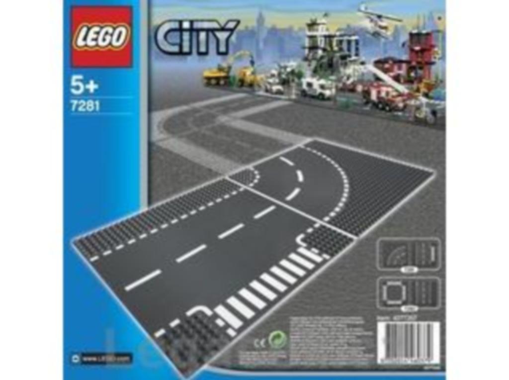 LEGO Zatáčka a křižovatka ve tvaru T