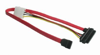 Kabel SATA napájecí + datový combo GEMBIRD
