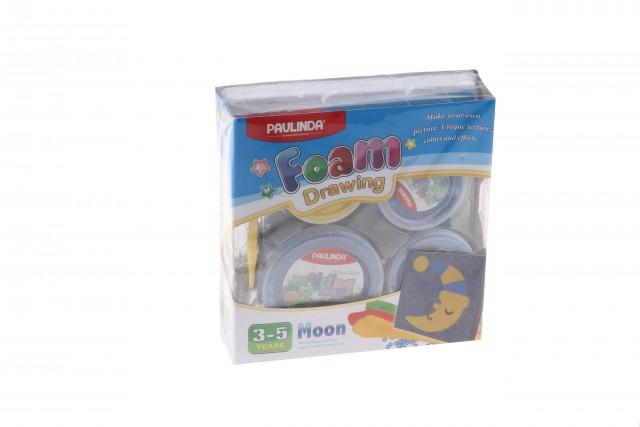 Foam Drawing – kreativní sada Měsíc