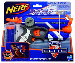 NERF elite pistole s laserovým zaměřováním