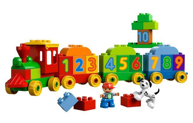 LEGO DUPLO 10558 Vláček plný čísel