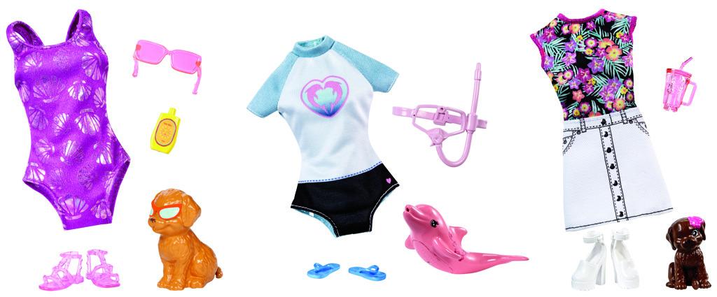 Barbie magický delfín doplňky