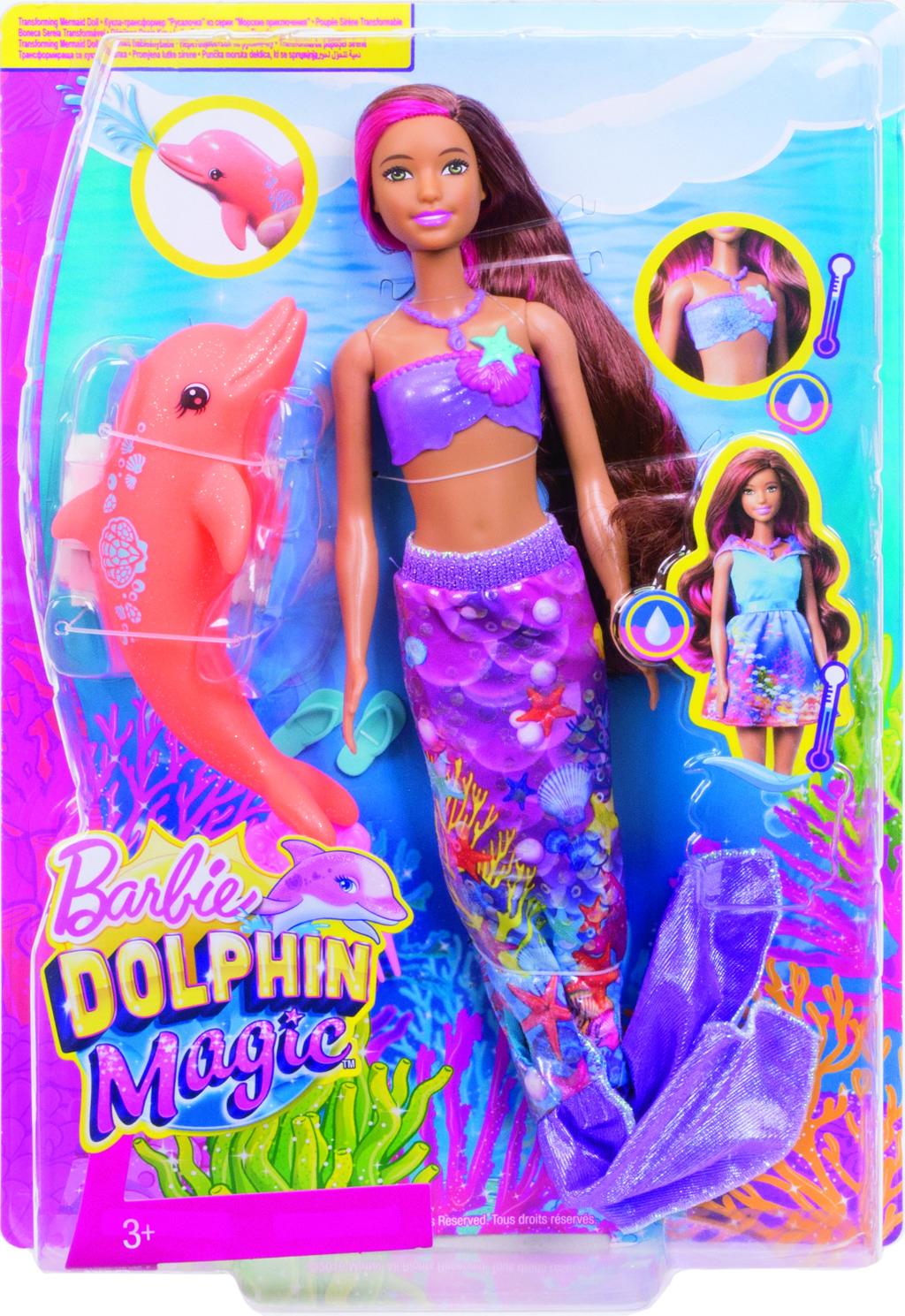 Barbie magický delfín kamarádka