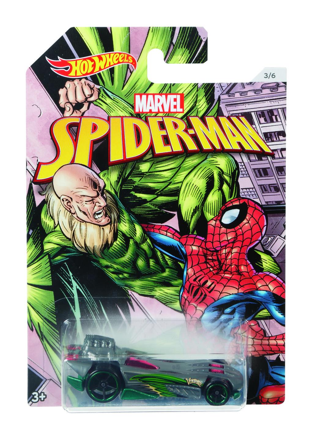 Hot Wheels tématické auto - Marvel Spiderman