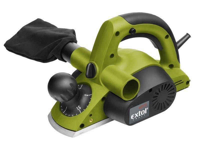 Hoblík elektrický, 750W, 82mm, 0-2mm, EXTOL CRAFT, 409113