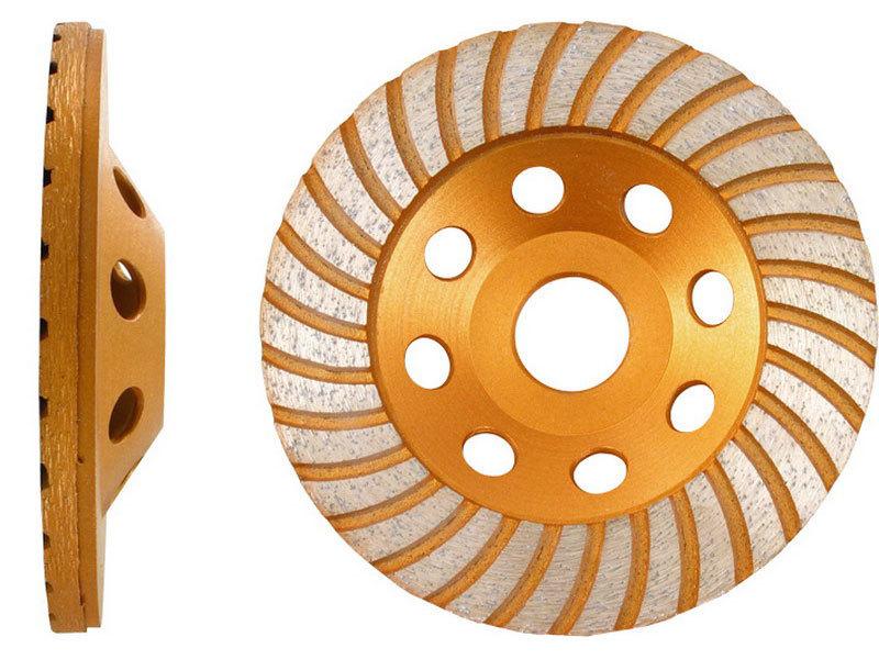 Kotouč diamantový brusný, 125x22,2mm, EXTOL PREMIUM
