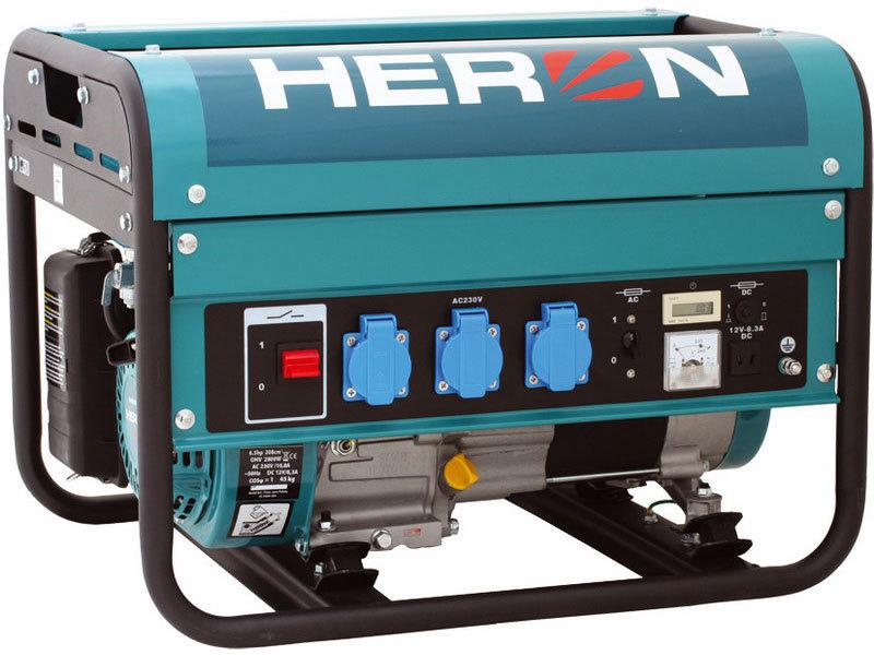 Elektrocentrála benzínová 6,5HP, 2,8kW, HERON, EGM 30 AVR, 8896116, záruka 3 roky