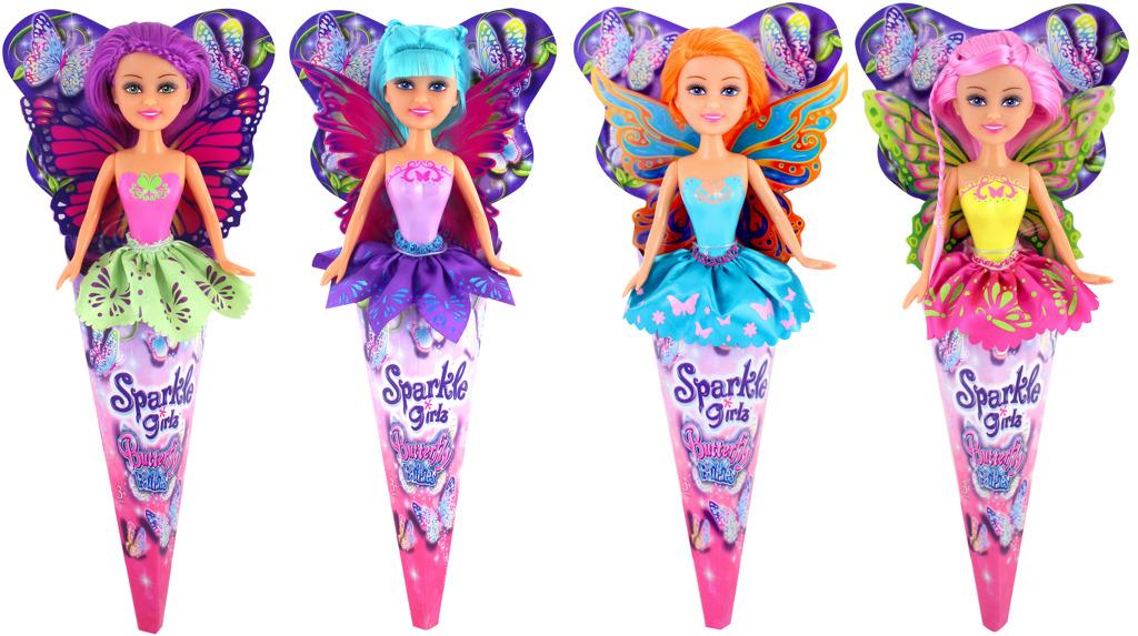 Motýlí víla Sparkle Girlz