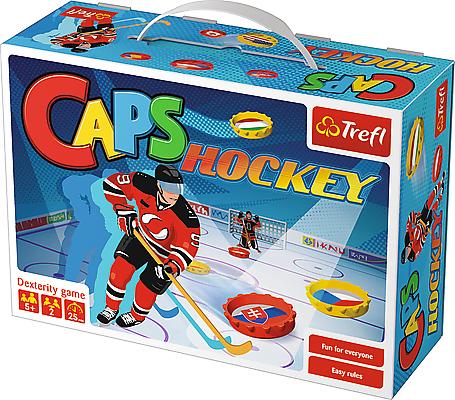 Stolní hra víčka - hokej