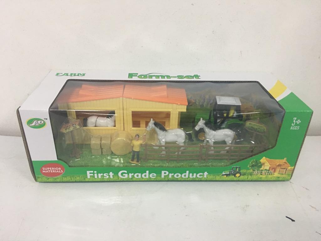 Farmářský set koně a stáje