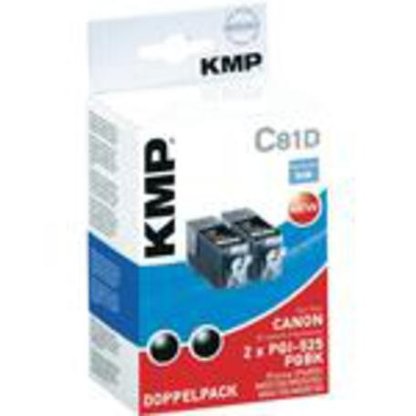 KMP C81 ink cartridge black compatible with PGI-525 PGBK
