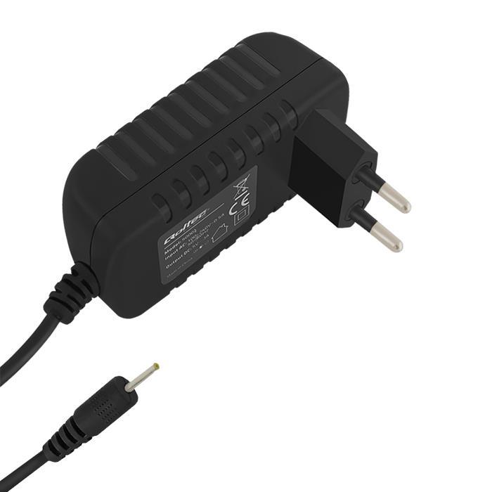Qoltec AC adaptér pro Smartphone / Tablet | 15W | 5V | 3A | 2.5*0.7