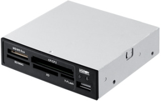 I-BOX Čtečka karet 62v1 + USB, interní, černá