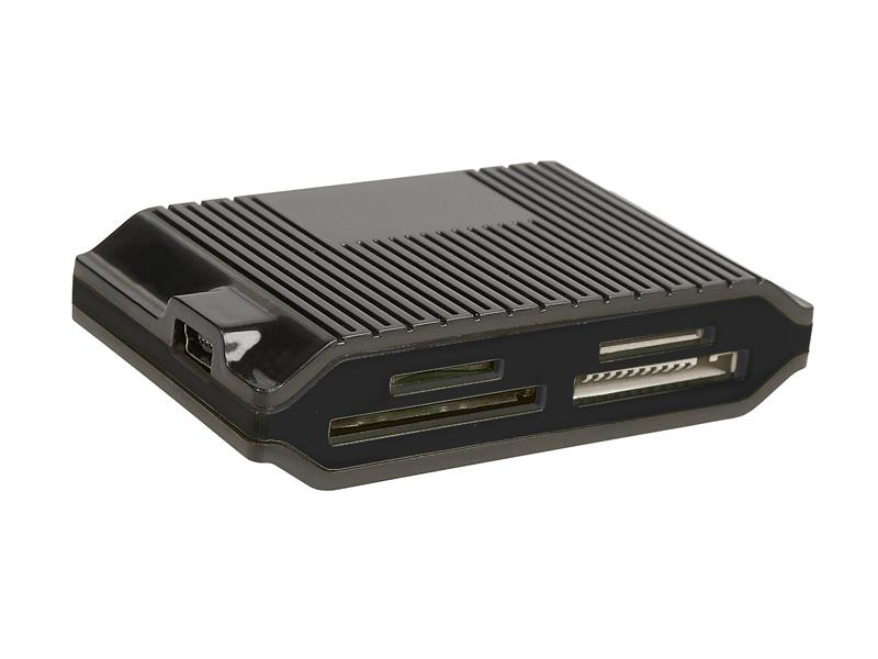 Tracer CH3 čtečka karet All-In-One + HUB USB 2.0 (3 porty), černá