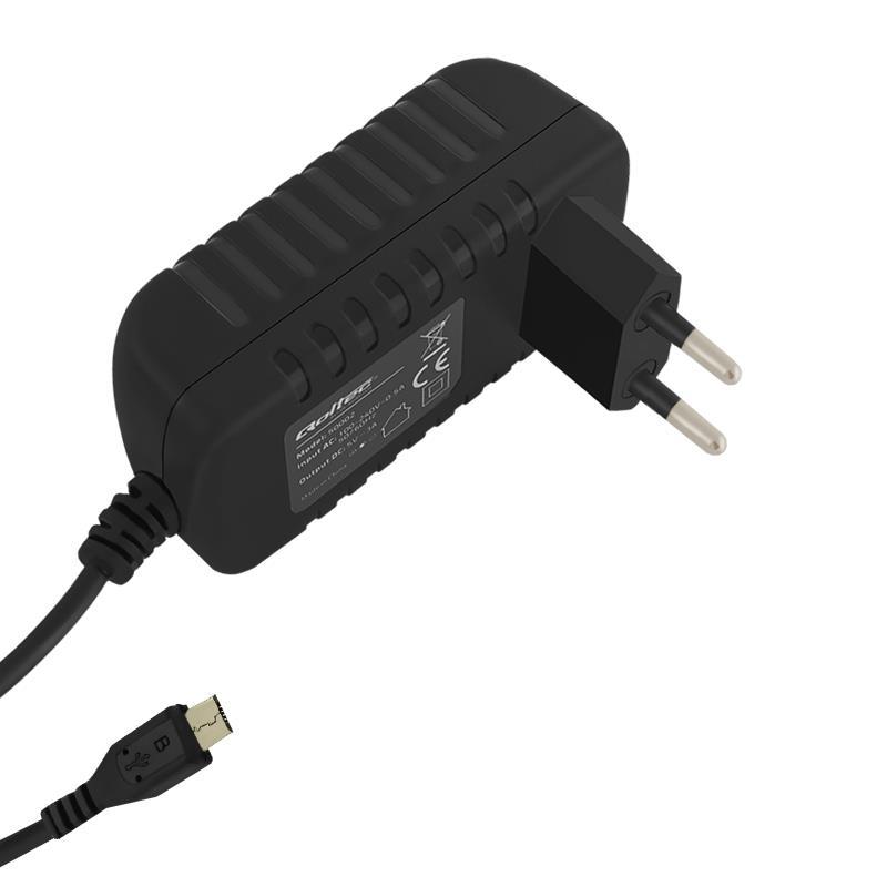 Qoltec AC adaptér pro Smartphone/ Tablet | 15W | 5V | 3A | microUSB