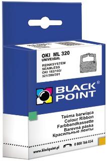 Ribbon Black Point KBPO320   Black   Nylon   Universal   OKI 09002303