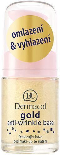 Přípravek proti vráskám Dermacol Gold Anti-Wrinkle Base 15ml