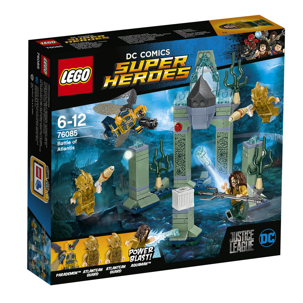 Lego Super Heroes Bitva o Atlantidu