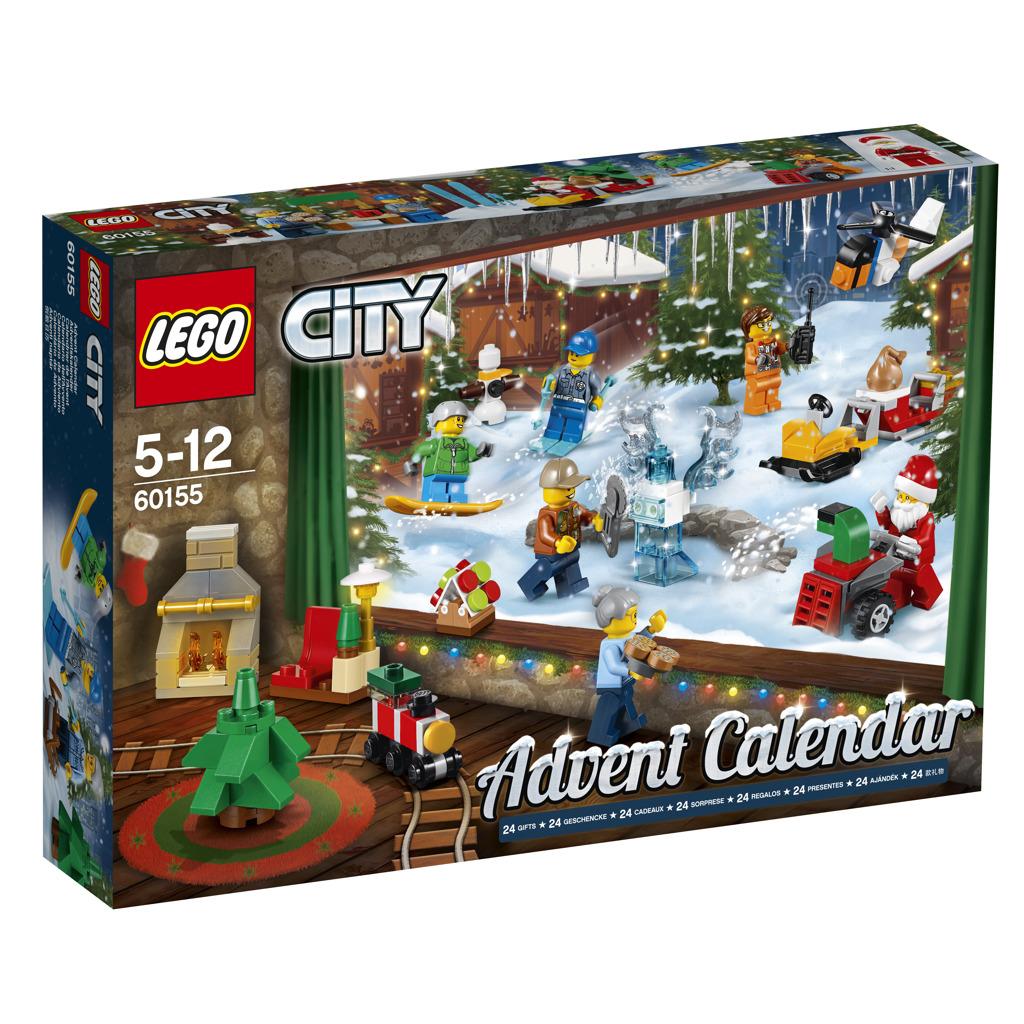 LEGO® City adventní kalendář