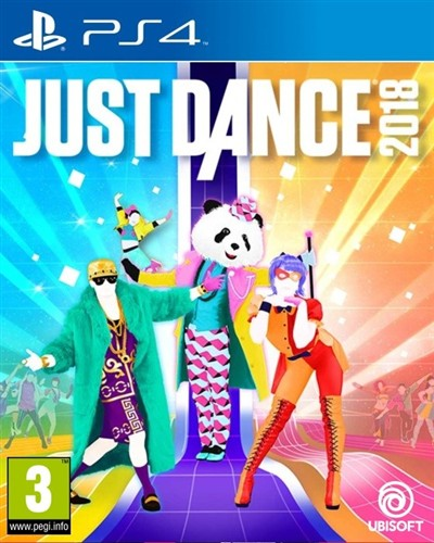 HRA PS4 Just Dance 2018