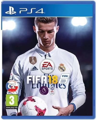 FIFA 18 hra PS4 EA