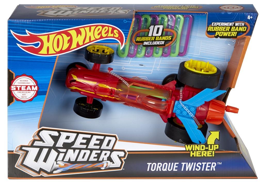 Hot Wheels speed winders tornádo