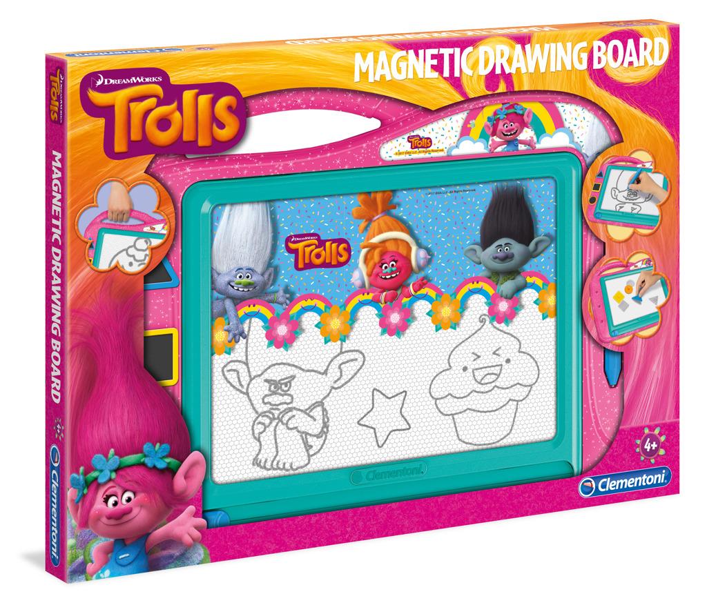 Magnetická tabulka - Trolls