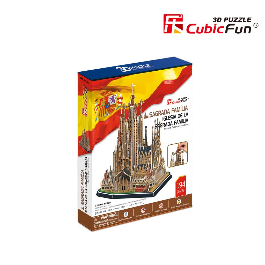 Puzzle 3D Sagrada Família - 194 dílků