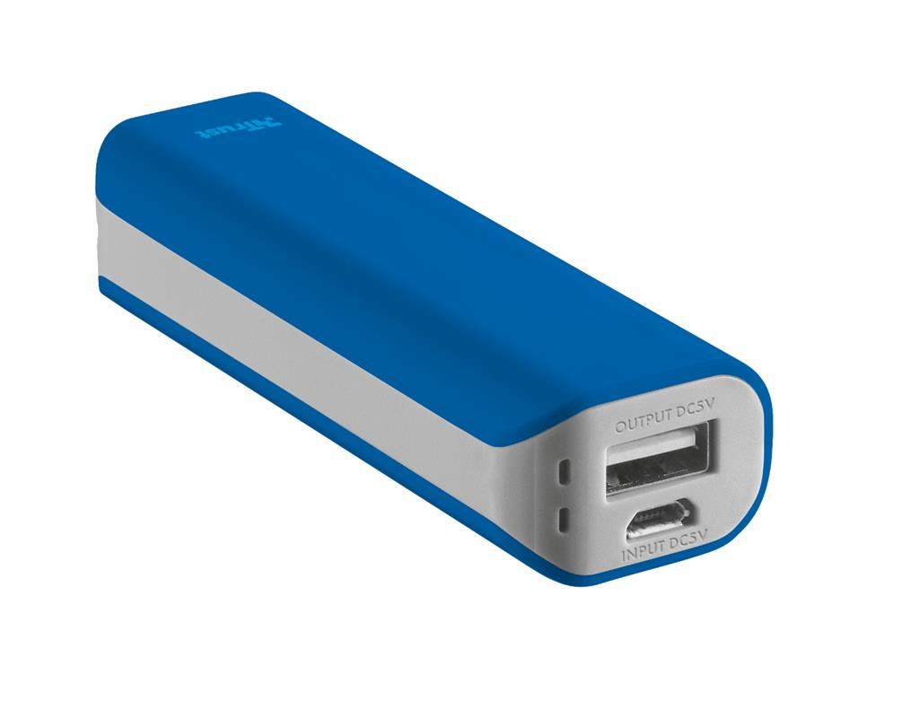 Primo PowerBank 2200 Portable Charger - blue