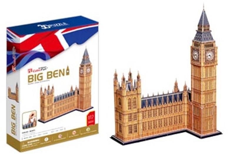 Puzzle 3D Big Ben - 117 dílků