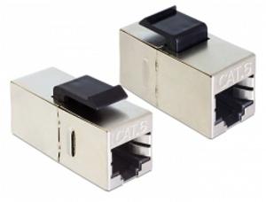 Delock Keystone Module RJ45 samice > RJ45 samice Cat.6, spojka